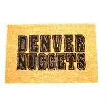 Denver Nuggets Door Mat, 48X75cms